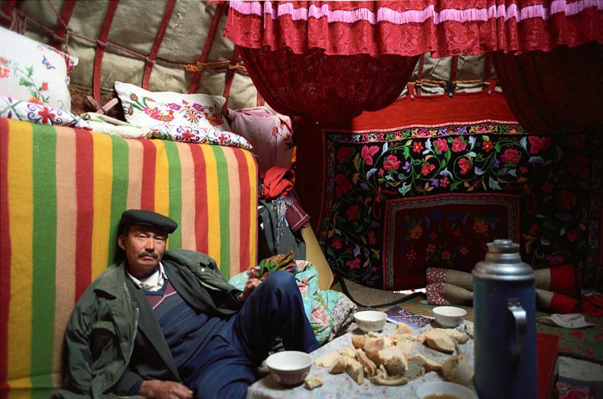 Rasheet in His Yurt